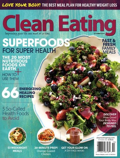 Clean Eating Magazine Subscription Only $6.49!