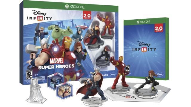 Disney Infinity Marvel Super Heroes 2.0 Edition