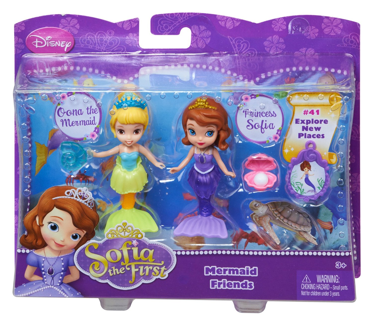 Sofia The First 3 Quot Sofia And Oona The Mermaid Doll Only 5