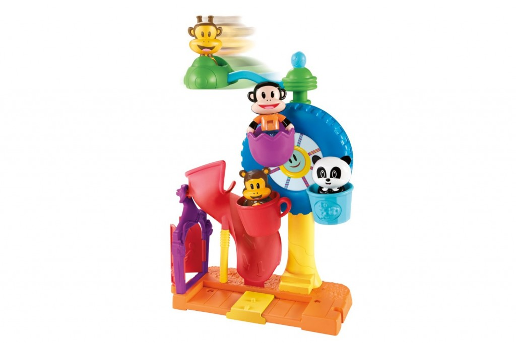 Fisher-Price Julius Jr. Twirl-A-World Amusement Park