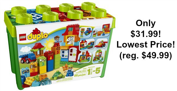 LEGO DUPLO My First Deluxe Box of Fun Building Toy