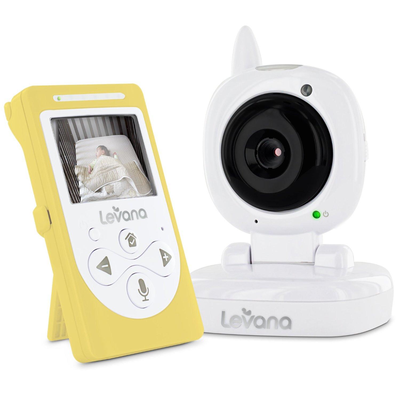 highly rated levana sophia digital 2 4 inch video baby monitor reg. Black Bedroom Furniture Sets. Home Design Ideas