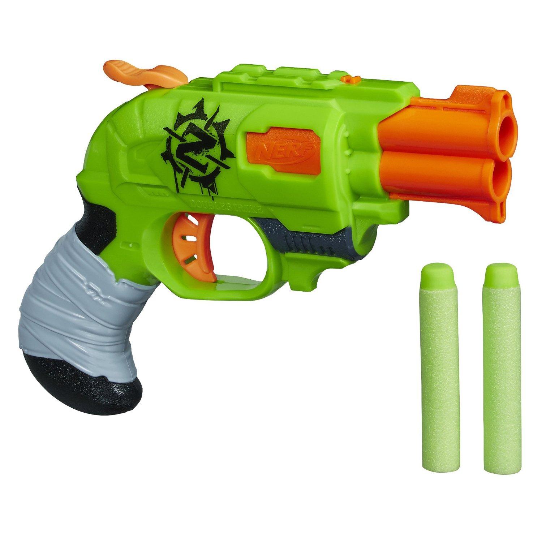 Nerf Zombie Strike Doublestrike Blaster Only $6.00 ...