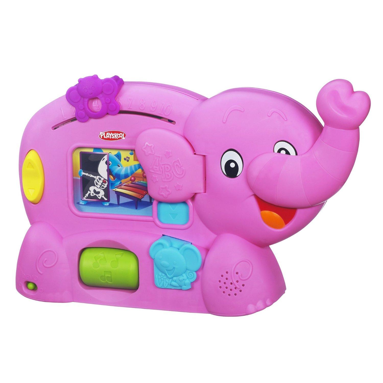 Amazon Travel Items Playskool Learnimals Abc Adventure Pink Elephant Toy 14