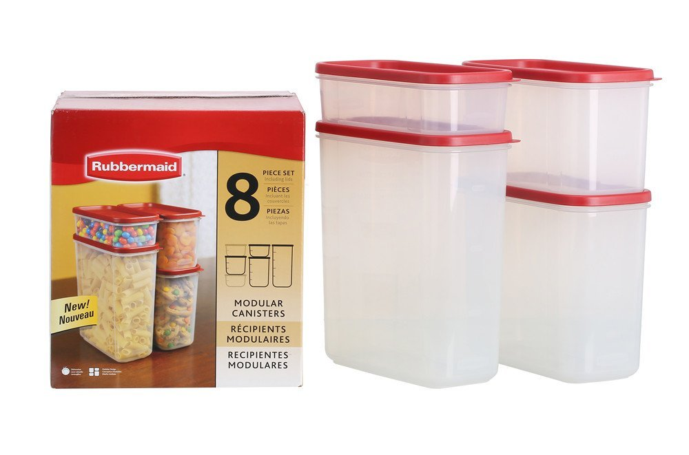 Rubbermaid 8-Pc. Modular Food System
