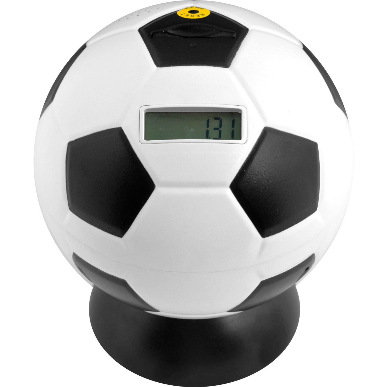 Soccer ball digital coin counting bank only reg - Coin bank that counts money ...