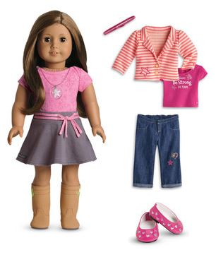 american girl doll - outfit