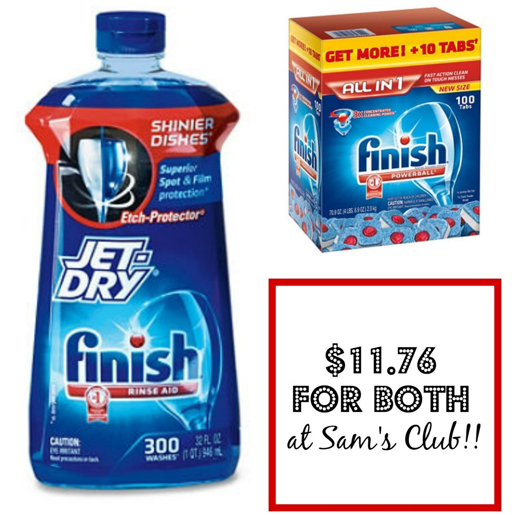 finish deal at sam's