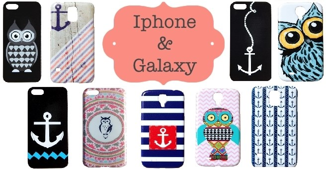 owl and anchor phone cases