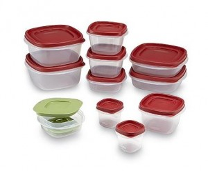 Rubbermaid 21-Piece Easy Find Lids Storage Containers Only $7.19!