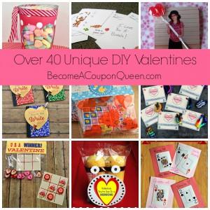 Over 40 Unique DIY Valentines!