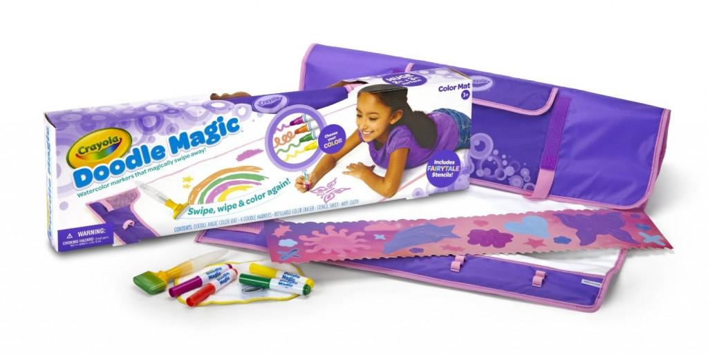 Crayola Mat-Fairytale Doodle Magic Color Marker