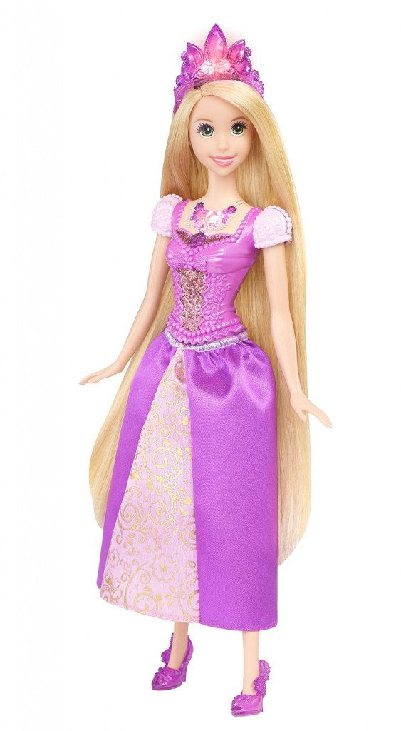 Disney Princess Glittering Lights Rapunzel Doll