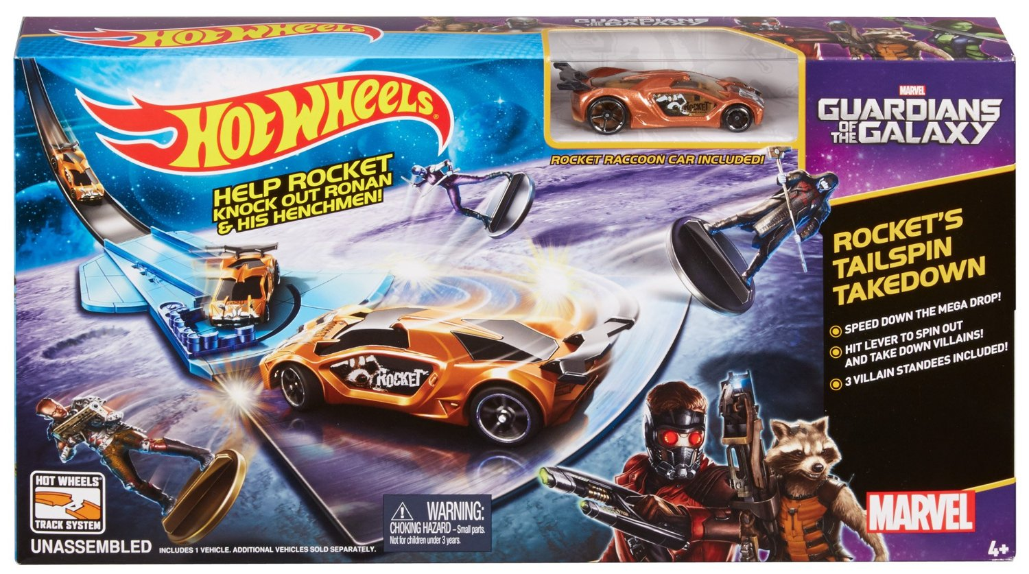 hot wheels marvel guardians of the galaxy rocket u0026 39 s