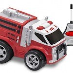 Kid Galaxy Soft and Squeezable Radio Control Fire Truck Only $11.99!