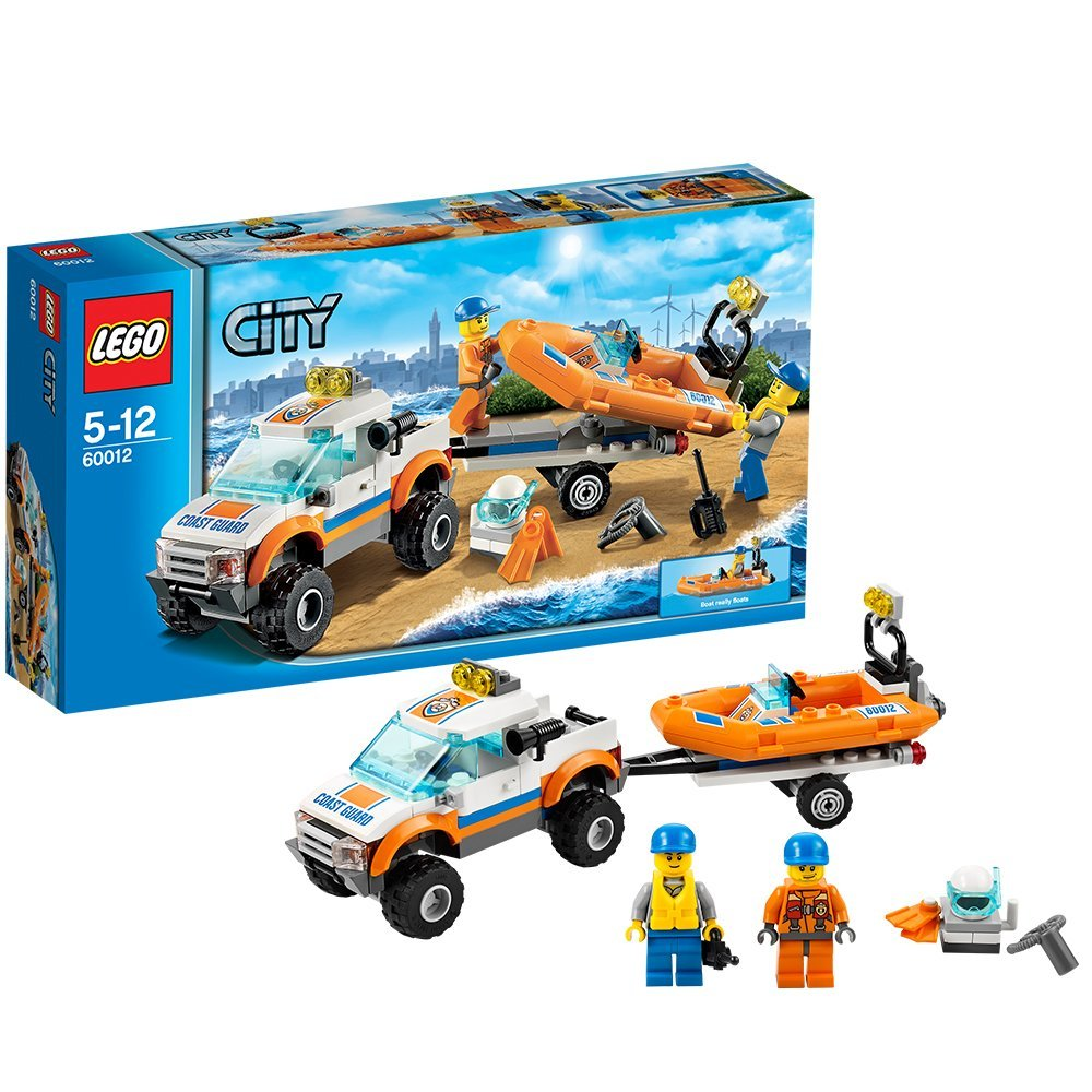 LEGO 4 x 4 Diving Boat