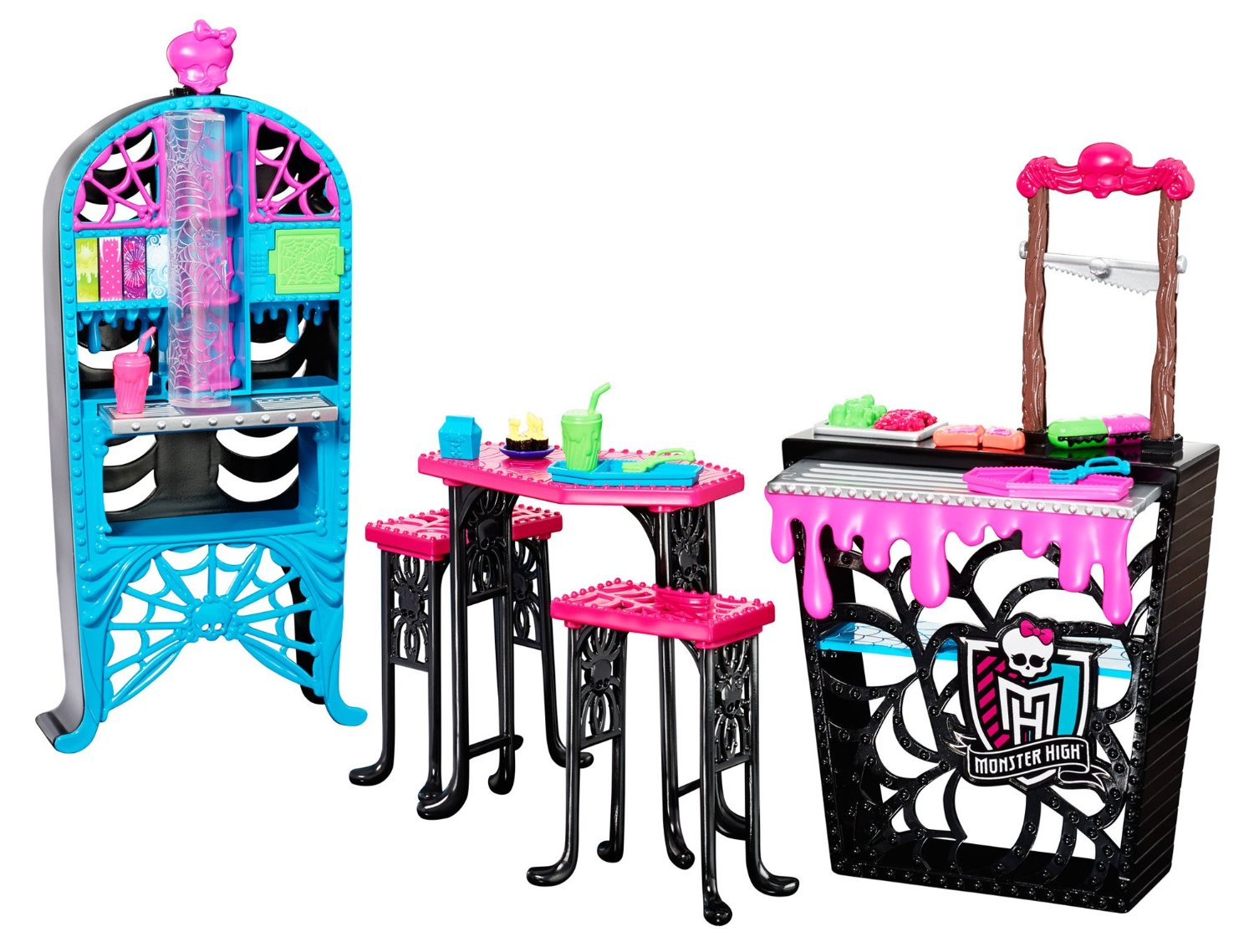 Monster High Social Spots Creepateria Accessory Only 7 12