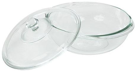 Pyrex Bakeware 2-Quart Casserole Dish with Lid