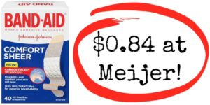 Meijer: Band-Aid Products as low as $0.84!