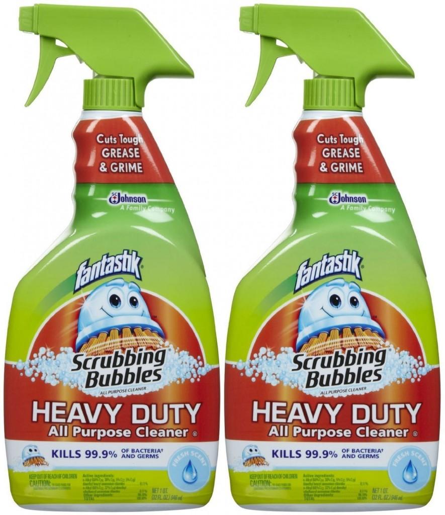 fantastik scrubbing bubbles
