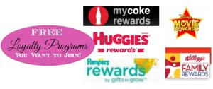 FREE Loyalty Programs You Want to Join!