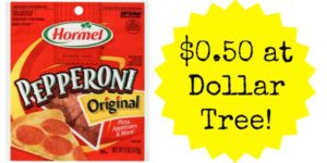 Dollar Tree: Hormel Pepperoni Only $0.50!