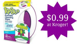 Kroger: Kandoo Flushable Wipes Only $0.99!