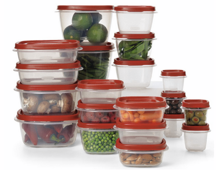rubbermaid 40 piece set