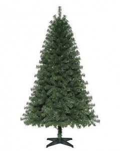 Trim A Home 6′ Spruce Unlit Tree Only $14.99 + FREE Store Pickup!