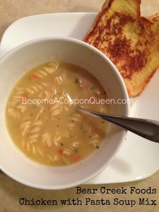 Bear Creek Foods Chicken with Pasta Soup Mix