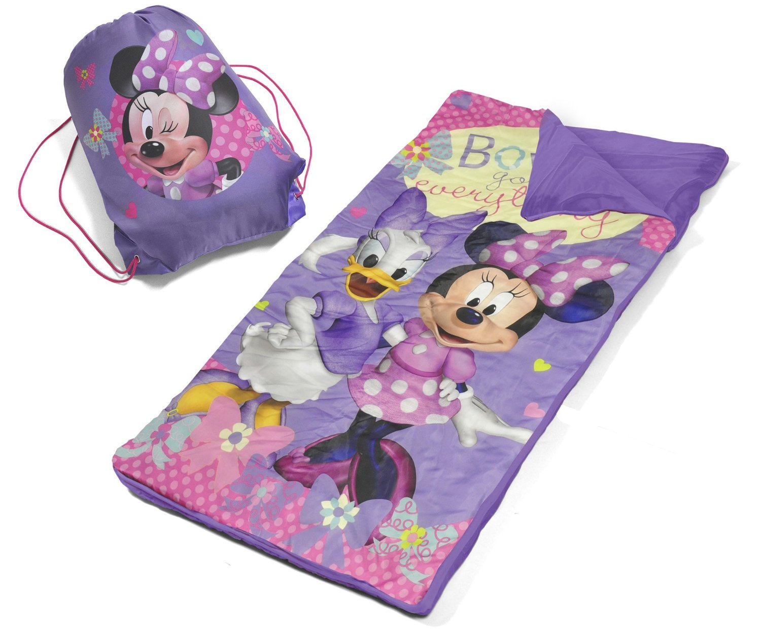 Disney Minnie Mouse Slumber Bag Set Only 9 98 Lowest Price