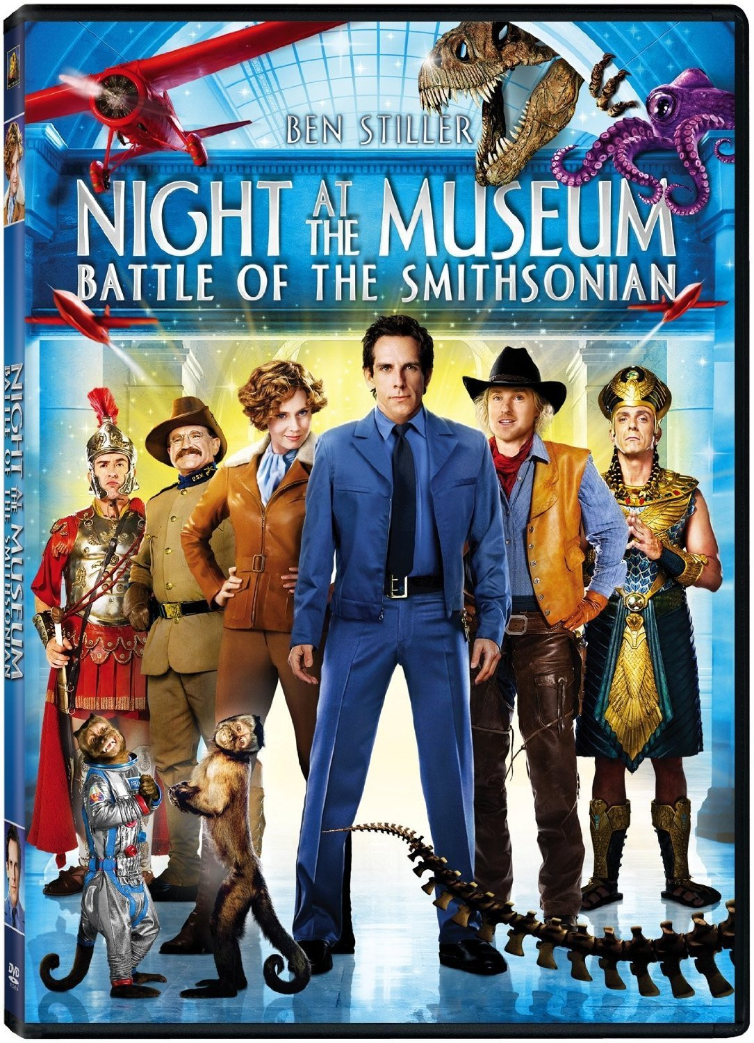Night at the Museum: Battle of the Smithsonian DVD Only $4!