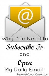 Why You Need to Subscribe To and Open My Daily Email!