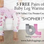 5 FREE Pairs of Baby Leggings! (just pay shipping)