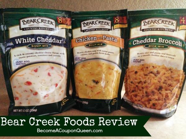 bear creek foods review