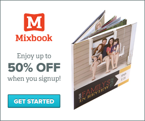 Mixbook coupons 60 off