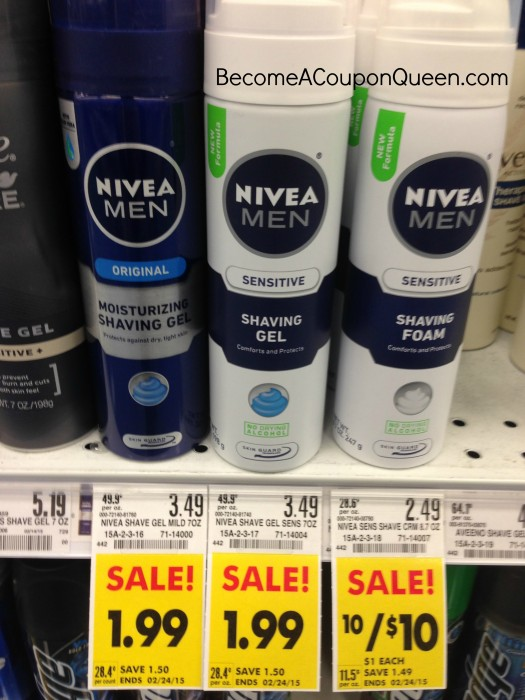 nivea men shave foam