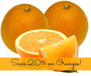 SavingStar Healthy Coupon: Save 20% on Oranges!