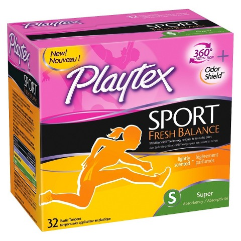 playtex sport tampons 32ct