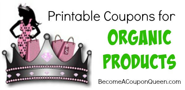 printable coupons for organic products