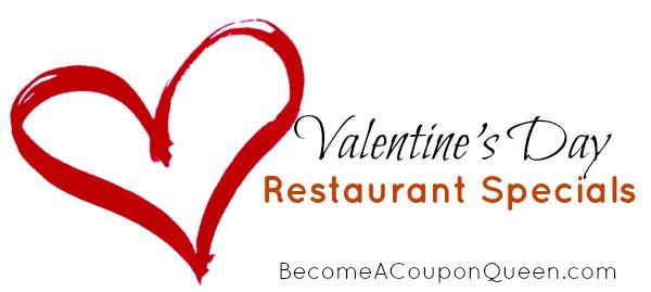 Valentine's Day Freebies and Restaurant Deals