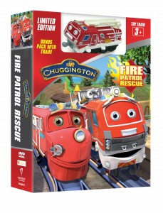 Today is Chuggington Fire Patrol Rescue Day! Get Fire Safety Tips + a Coloring Sheet!