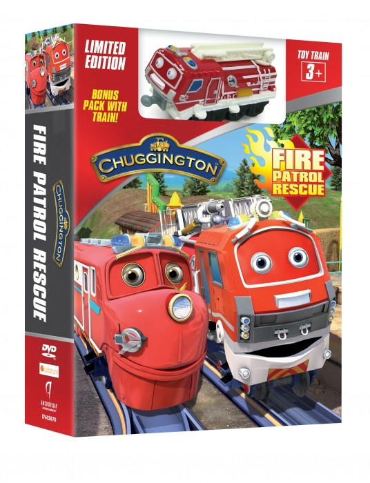 Chuggington Fire Rescue Patrol Box 3D