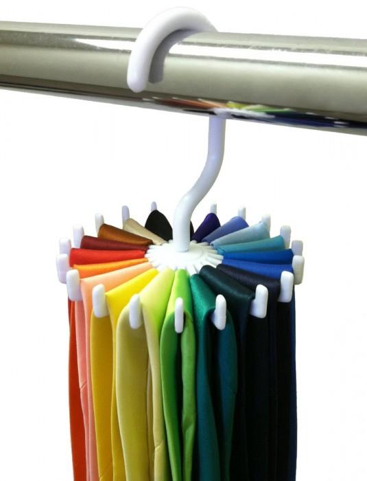 Closet Complete Twirling Tie Rack Organizer