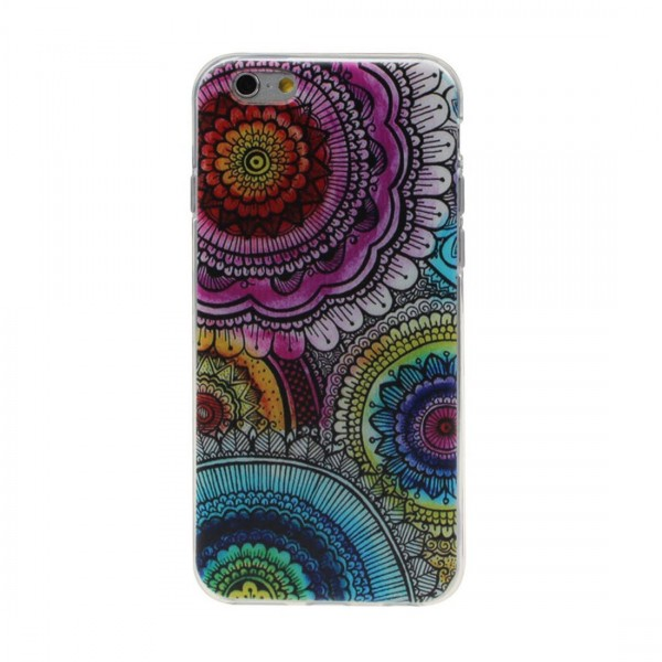 Colorful Flower Case For iPhone 6 Plus