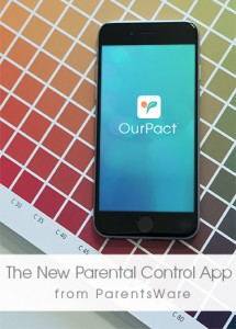 Manage Your Child's Technology Use with OurPact – The New Parental Control App! #ad