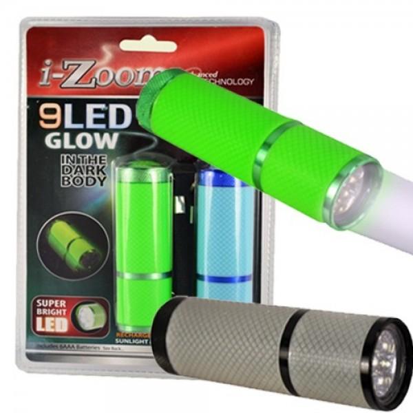 LED Glow in the Dark Flashlights