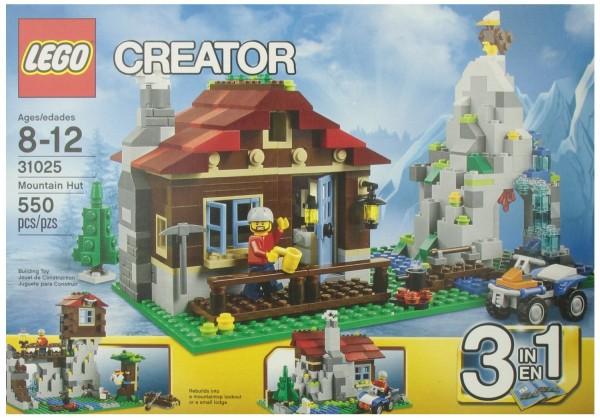 Lego Creator Mountain Hut