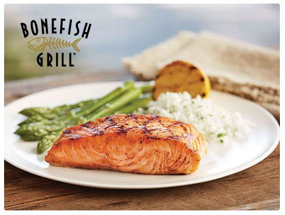 Free 10 gift card to bonefish grill for Bone fish grill coupons
