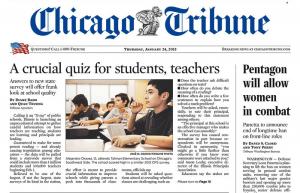 Chicago Tribune Subscription – Sunday Only $0.99!